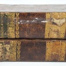 Diccionarios antiguos: NUEVO DICCIONARIO FRANCÉS ESPAÑOL. 2 TOMOS. NUÑEZ DE TABOADA. BARCELONA. 1840/1841. . Lote 121215283