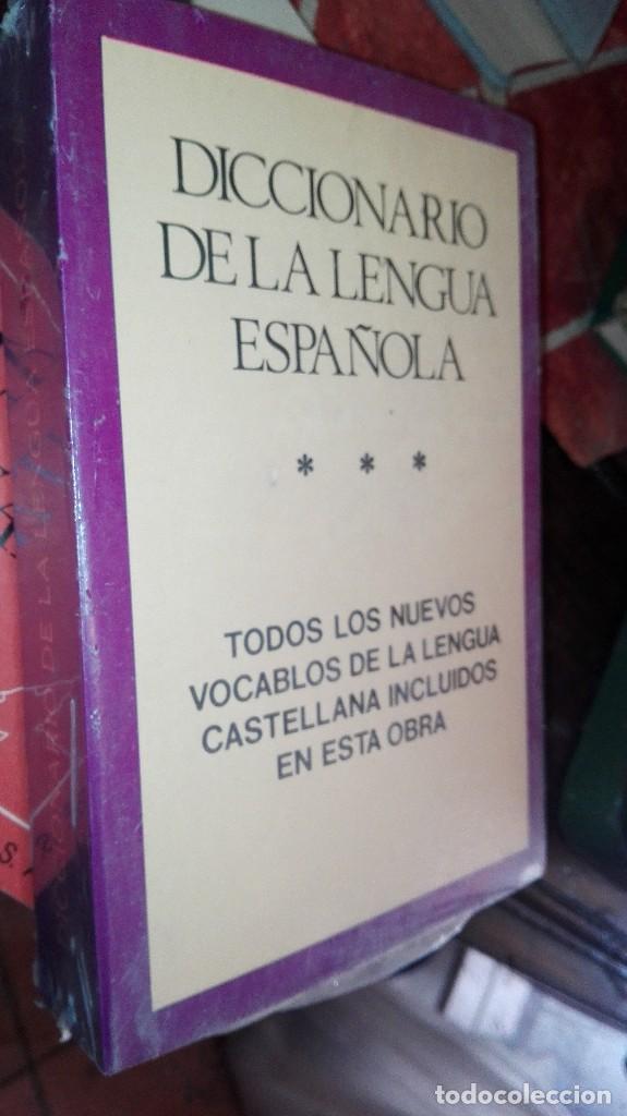 DICCIONARIO DE LA LENGUA ESPAÑOLA EN BLISTER (Libros Antiguos, Raros y Curiosos - Diccionarios)
