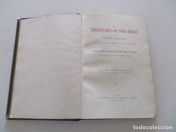 Diccionarios antiguos: REV. EDWIN DAVIES, D. D. RM86345 - Foto 3 - 121374491