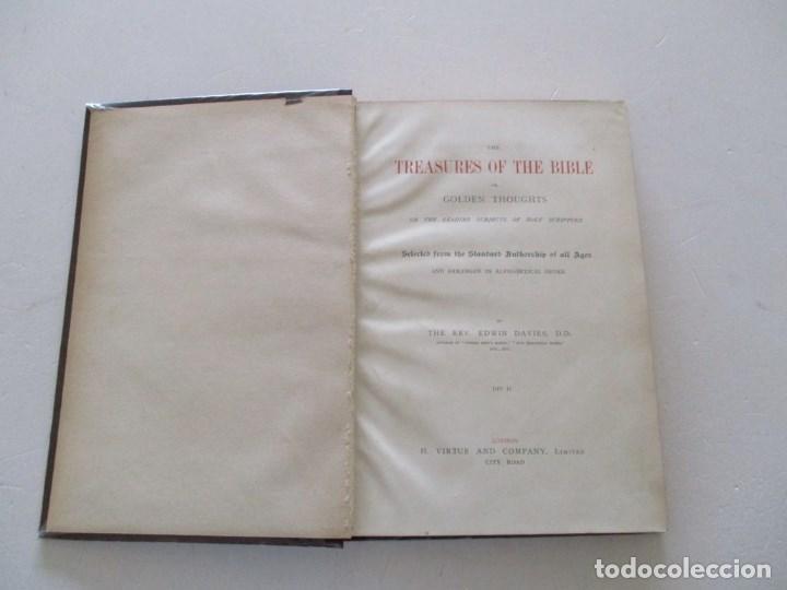 Diccionarios antiguos: REV. EDWIN DAVIES, D. D. RM86345 - Foto 6 - 121374491