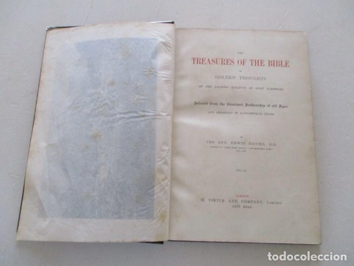 Diccionarios antiguos: REV. EDWIN DAVIES, D. D. RM86345 - Foto 10 - 121374491