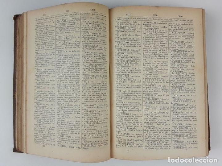 Diccionarios antiguos: DICCIONARIO DE PRONUNCIACIÓN ESPAÑOL-INGLÉS. PARTE SEGUNDA. CADIZ. 1861. - Foto 5 - 121700995