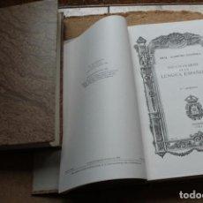Diccionarios antiguos: DICCIONARIO DE LA LENGUA ESPAÑOLA. REAL ACADEMIA ESPAÑOLA. VIGÉSIMA EDICIÓN.. Lote 123365015