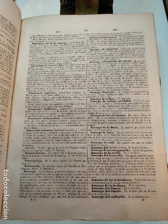Diccionarios antiguos: DICCIONARIO DE FARMACIA DEL COLEGIO DE FARMACEUTICOS DE MADRID - VV. AA. - 2 TOMOS - MADRID - 1865 - - Foto 6 - 124012415