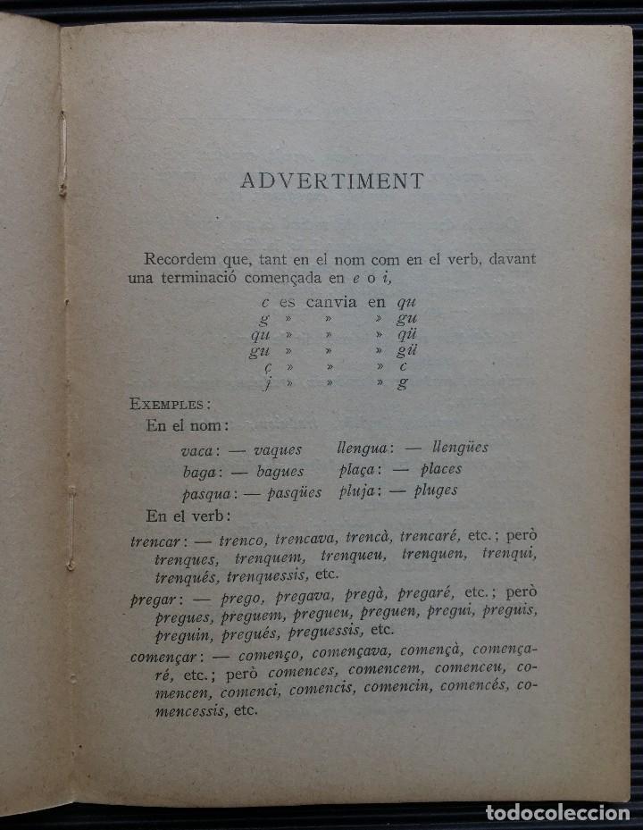 Diccionarios antiguos: DICCIONARI ORTOGRAFIC ABREUJAT DE POMPEU FABRA, EDITORIAL BARCINO, 1926 BARCELONA - Foto 3 - 124506155