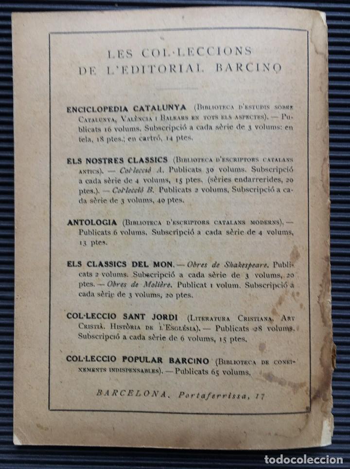 Diccionarios antiguos: DICCIONARI ORTOGRAFIC ABREUJAT DE POMPEU FABRA, EDITORIAL BARCINO, 1926 BARCELONA - Foto 8 - 124506155