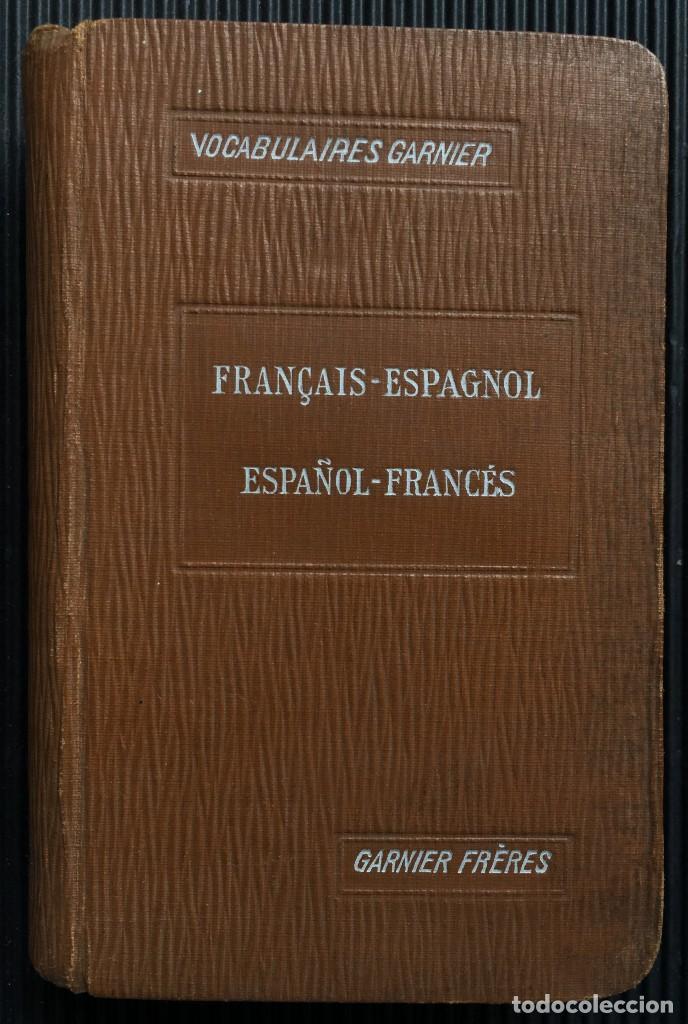 NOUVEAU VOCABULAIRE FRANÇAIS-ESPAGNOL, ESPAGNOL-FRANÇAIS, POR ARTURO DE ROZZOL, 1809 (Libros Antiguos, Raros y Curiosos - Diccionarios)