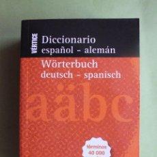 Livres anciens: DICCIONARIO DE ESPAÑOL ALEMAN EVEREST. Lote 126113471