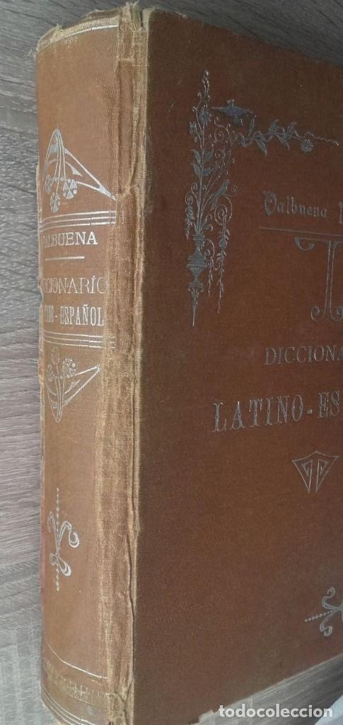 Diccionarios antiguos: DICCIONARIO LATINO ESPAÑOL ** VALBUENA REFORMADO - Foto 2 - 126272547