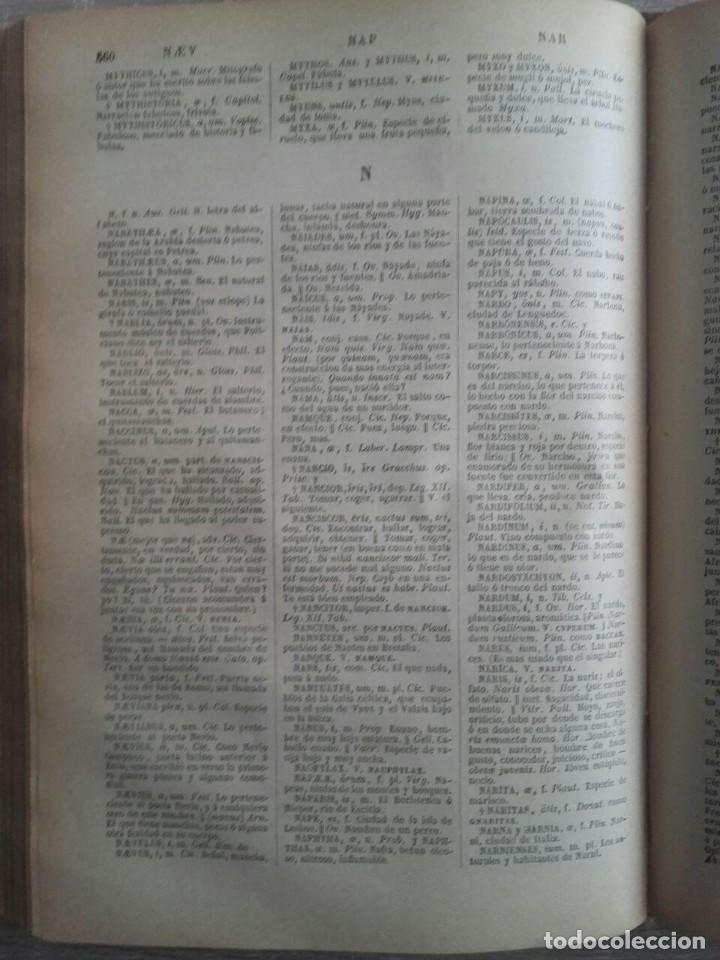 Diccionarios antiguos: DICCIONARIO LATINO ESPAÑOL ** VALBUENA REFORMADO - Foto 7 - 126272547