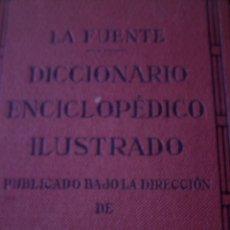 Diccionarios antiguos: DICCIONARIO ENCICLOPEDICO ILUSTRADO, EDIT. RAMON SOPENA, AUTOR JOSE ALEMANY - FILOLOGO, LEXICOGRAFO . Lote 126499883