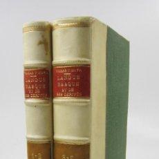 Diccionarios antiguos: DE L'EUSQUERE ET DE SES ERDERES OU LA LANGUE BASQUE, YRIZAR MOYA, 2 TOMOS, 1841, PARIS.. Lote 128426799
