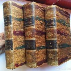 Diccionarios antiguos: DICCIONARIO ESPAÑOL-PORTUGUÉS (3 TOMOS) - MANUEL DO CANTO E CASTRO MASCARENHAS - 1864, LISBOA. Lote 128510071