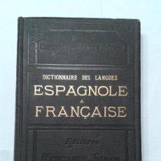Diccionarios antiguos: DICTIONNAIRE DES LANGUES TOMO III A - CU 1886 NEMESIO FERNÁNDEZ CUESTA MONTANER & SIMON EDITEURS . Lote 128750279