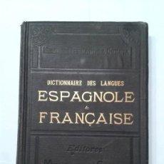 Diccionarios antiguos: DICTIONNAIRE DES LANGUES TOMO IV H - Z 1887 NEMESIO FERNÁNDEZ CUESTA MONTANER & SIMON EDITEURS . Lote 128750319