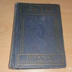 Diccionarios antiguos: PALLAS DICCIONARI CATALA CASTELLA FRANCES PAL-LAS AÑOS 20 ?. Lote 129057191