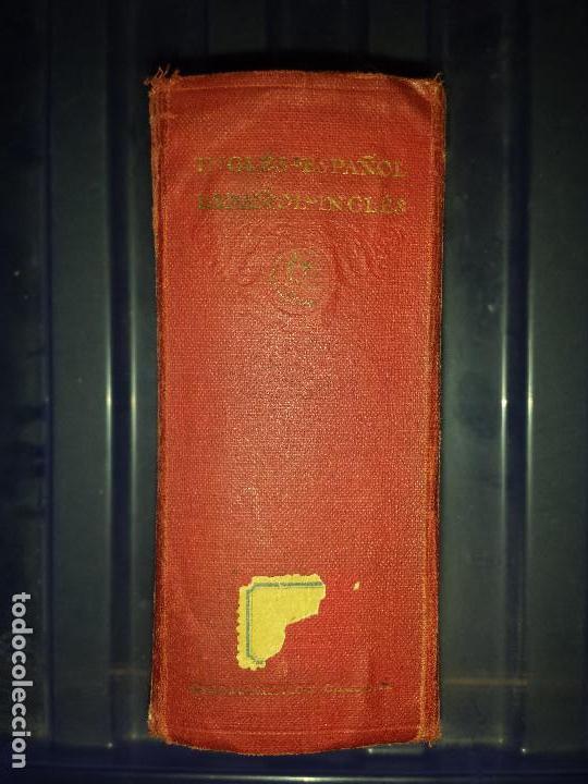 Diccionarios antiguos: Diccionario Ingles Español , Editorial Calleja 1925 - Foto 3 - 129380491