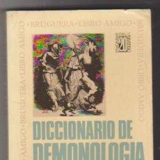 Diccionarios antiguos: DR. FREDERIK KONING. DICCIONARIO DE DEMONOLOGÍA. 1ª EDICIÓN BRUGUERA 1974. 17,5X10,5. TAPAS BLANDAS,. Lote 129513643