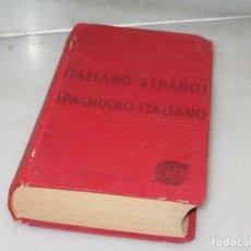 Diccionarios antiguos: DICCIONARIO ITALIANO ESPAÑOL 1960. Lote 129959439