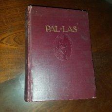 Diccionarios antiguos: DICCIONARIO PAL - LAS 1915. Lote 130833749
