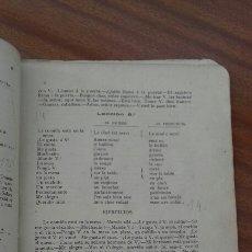 Diccionarios antiguos: LIBRO ANTIGUO FRANCES CORUÑA. Lote 133656197