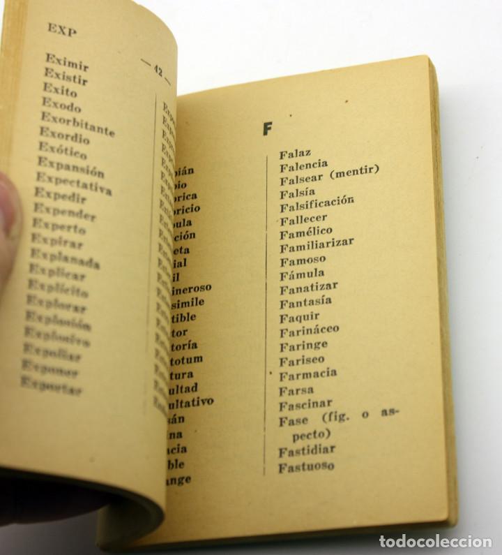Diccionarios antiguos: DICCIONARIO MANUAL ORTOGRAFICO - 1940 - BUENOS AIRES - EDITORIAL ARCE Y CÍA - Foto 2 - 135549518