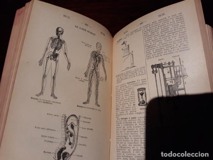 Diccionarios antiguos: Dictionnaire Manuel illustré Des Sciences Usuelles - e. Bouant . armand colin librairie 1901 - Foto 10 - 135736619