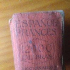 Diccionarios antiguos: DICCIONARIO LILIPUTIENSE ESPAÑOL - FRANCÉS. Lote 137696750