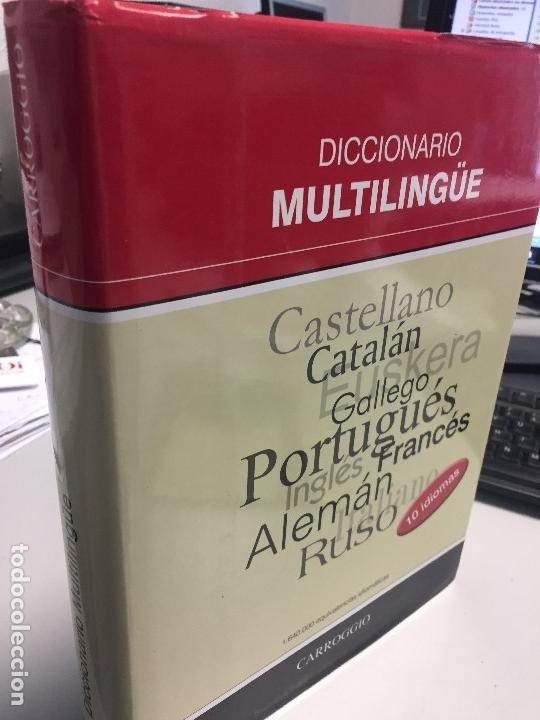 Diccionarios antiguos: Diccionario Multilingüe, 10 idiomas, muy práctico, gran formato, a estrenar! - Foto 2 - 170639560