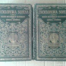 Diccionarios antiguos: LOTE ENCICLOPEDIA SOPENA: NUEVO DICCIONARIO ILUSTRADO DE LA LENGUA ESPAÑOLA (RAMÓN SOPENA, 1933). Lote 138734572