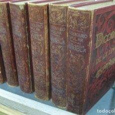 Diccionarios antiguos: DICCIONARIO POPULAR UNIVERSAL DE LA LENGUA ESPAÑOLA. 6 VOL. EDITORIAL DE PABLO RIERA Y SANS 1896.. Lote 138884506