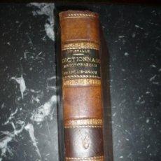 Diccionarios antiguos: GEORGES DELESALLE DICTIONNAIRE ARGOT- FRANÇAIS & FRANÇAIS-ARGOT JEAN RICHEPIN 1896 PARIS. Lote 139091010
