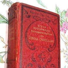 Diccionarios antiguos: LIBRO ANTIGUO DE 1899, NUEVO DICCIONARIO ENCICLOPÉDICO ILUSTRADO DE LA LENGUA CASTELLANA, M.T.G.. Lote 140216650