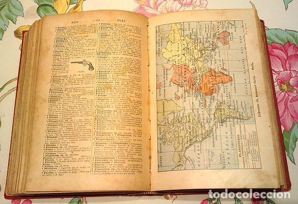 Diccionarios antiguos: Libro antiguo de 1899, Nuevo Diccionario Enciclopédico ilustrado de la Lengua Castellana, M.T.G. - Foto 4 - 140216650