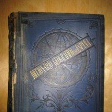 Diccionarios antiguos: DICCIONARIO GEOGRÁFICO (...) DE ESPAÑA Y ULTRAMAR.1886. PABLO RIERA Y SANS. TOMO DÉCIMO (X). Lote 140247738