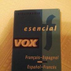 Diccionarios antiguos: DICCIONARIO DE ESPAÑOL FRANCÉS VOX 1999. Lote 142321526