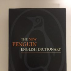 Diccionarios antiguos: DICCIONARIO THE NEW PENGUIN ENGLISH DICTIONARY AÑO 1986 PASTA DURA 1642 PÁGINAS DEFINICION EN INGLES. Lote 143344558