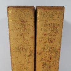Diccionarios antiguos: DICCIONARIO DE LA LENGUA CASTELLANA. 2 TOMOS. PEDRO LABERNIA. BARCELONA. 1844/ 1848.. Lote 144979202