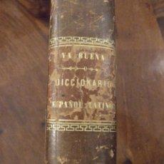 Diccionarios antiguos: DICCIONARIO ESPAÑOL-LATINO - MANUEL DE VALBUENA - GARNIER 1878 PARIS. Lote 145187622