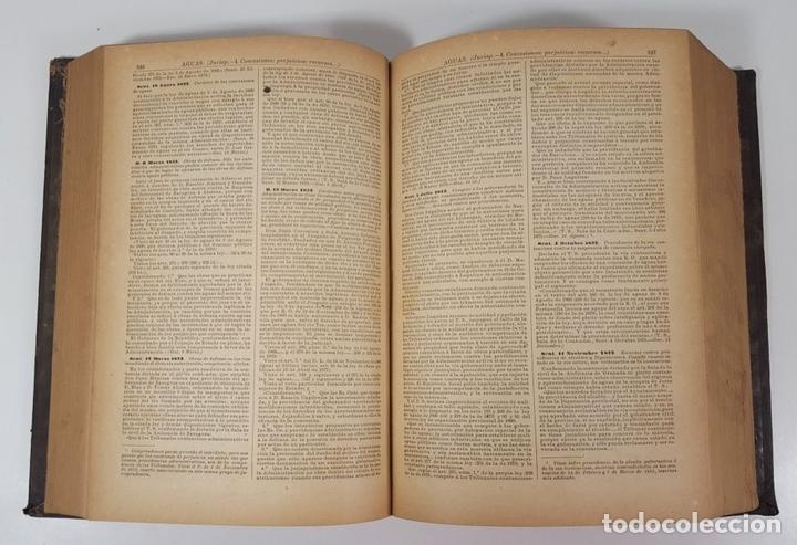 Diccionarios antiguos: DICCIONARIO DE ADMINISTRACIÓN. 6 TOMOS. MARCELO MARTÍNEZ ALCUBILLAS. MADRID. 1892/ 1894. - Foto 4 - 145499218