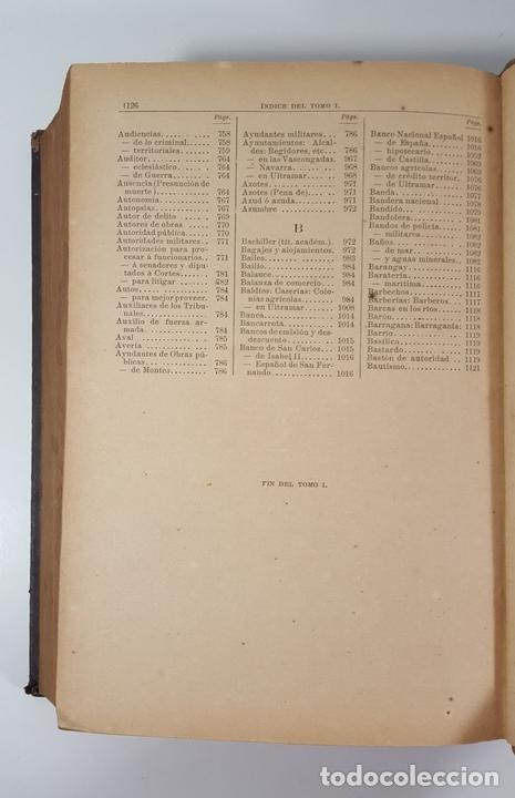 Diccionarios antiguos: DICCIONARIO DE ADMINISTRACIÓN. 6 TOMOS. MARCELO MARTÍNEZ ALCUBILLAS. MADRID. 1892/ 1894. - Foto 5 - 145499218