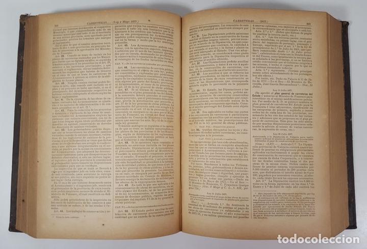Diccionarios antiguos: DICCIONARIO DE ADMINISTRACIÓN. 6 TOMOS. MARCELO MARTÍNEZ ALCUBILLAS. MADRID. 1892/ 1894. - Foto 7 - 145499218