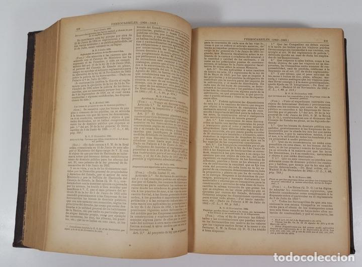Diccionarios antiguos: DICCIONARIO DE ADMINISTRACIÓN. 6 TOMOS. MARCELO MARTÍNEZ ALCUBILLAS. MADRID. 1892/ 1894. - Foto 16 - 145499218