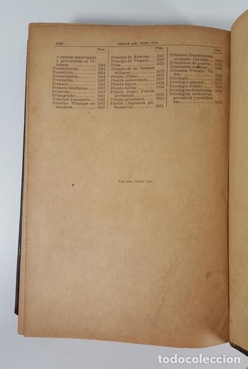 Diccionarios antiguos: DICCIONARIO DE ADMINISTRACIÓN. 6 TOMOS. MARCELO MARTÍNEZ ALCUBILLAS. MADRID. 1892/ 1894. - Foto 20 - 145499218