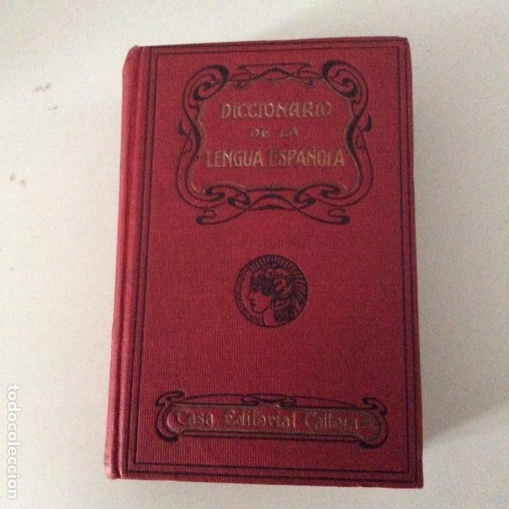DICCIONARIO POPULAR DE LA LENGUA ESPAÑOLA SATURNINO CALLEJA ED. MINERVA (Libros Antiguos, Raros y Curiosos - Diccionarios)