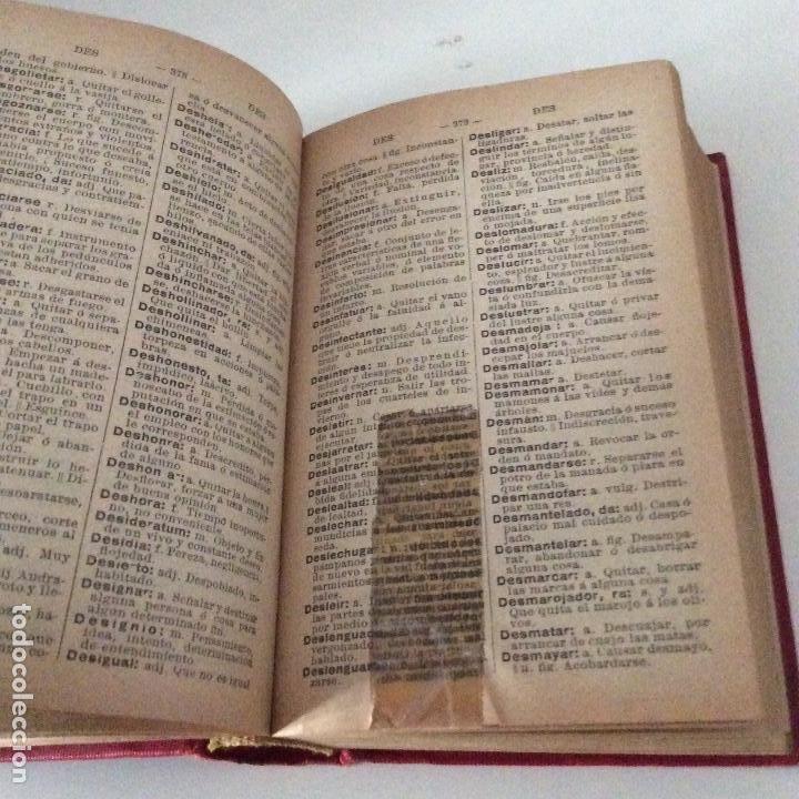 Diccionarios antiguos: Diccionario popular de la lengua española Saturnino Calleja Ed. Minerva - Foto 3 - 198211767