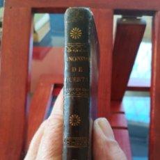 Diccionarios antiguos: SINONIMOS CASTELLANOS-SINONIMOS Y TRATADO DEL ARTICULO-J.L.DE LA HUERTA--1ª EDIC1830- REAL-10X7. Lote 146515598