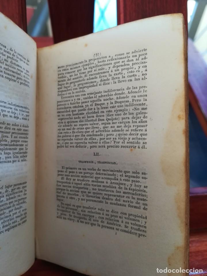 Diccionarios antiguos: SINONIMOS CASTELLANOS-SINONIMOS Y TRATADO DEL ARTICULO-J.L.DE LA HUERTA--1ª EDIC1830- REAL-10X7 - Foto 8 - 146515598