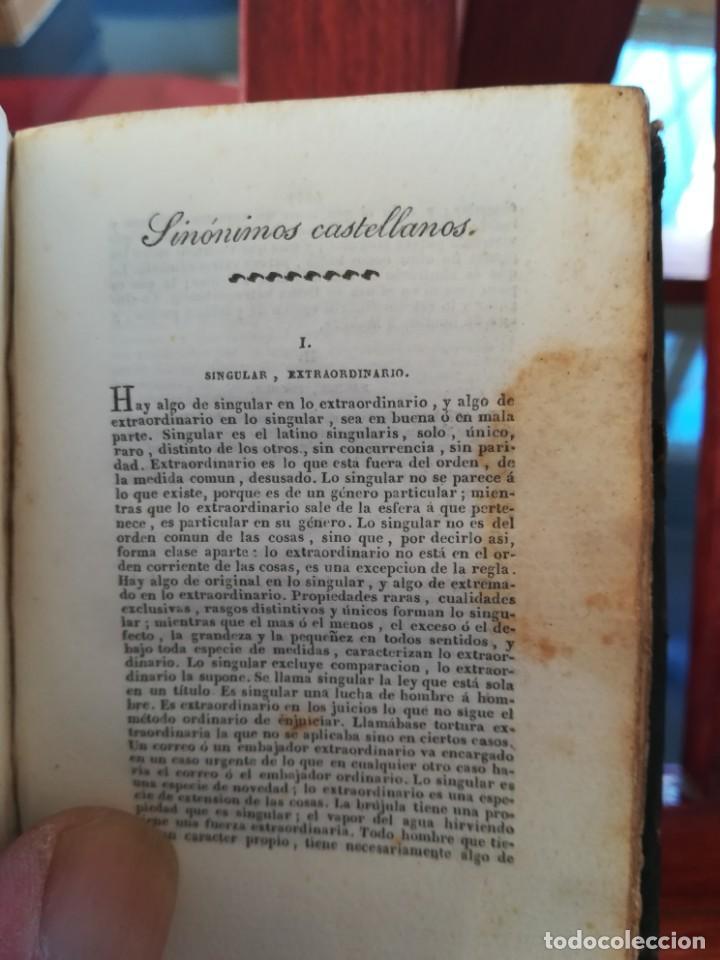 Diccionarios antiguos: SINONIMOS CASTELLANOS-SINONIMOS Y TRATADO DEL ARTICULO-J.L.DE LA HUERTA--1ª EDIC1830- REAL-10X7 - Foto 9 - 146515598