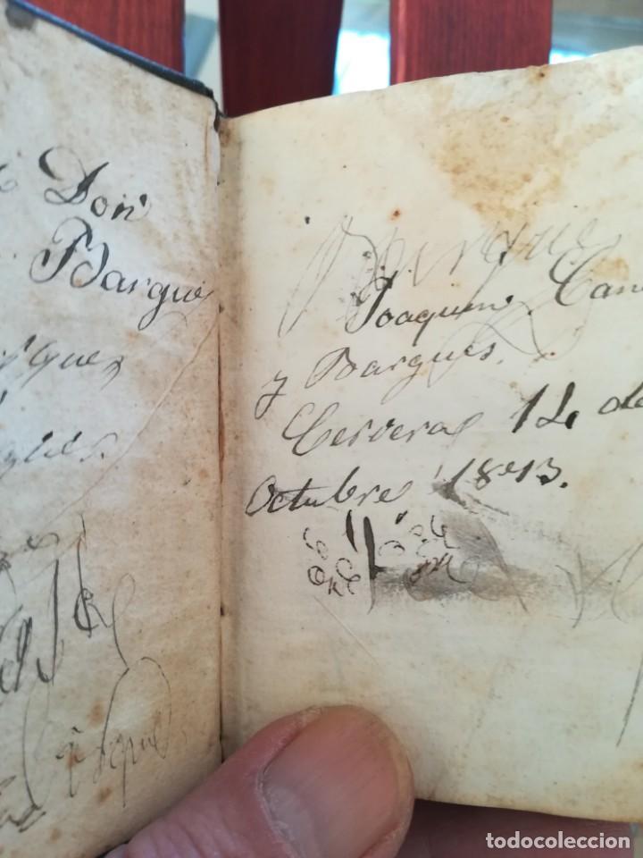 Diccionarios antiguos: SINONIMOS CASTELLANOS-SINONIMOS Y TRATADO DEL ARTICULO-J.L.DE LA HUERTA--1ª EDIC1830- REAL-10X7 - Foto 11 - 146515598